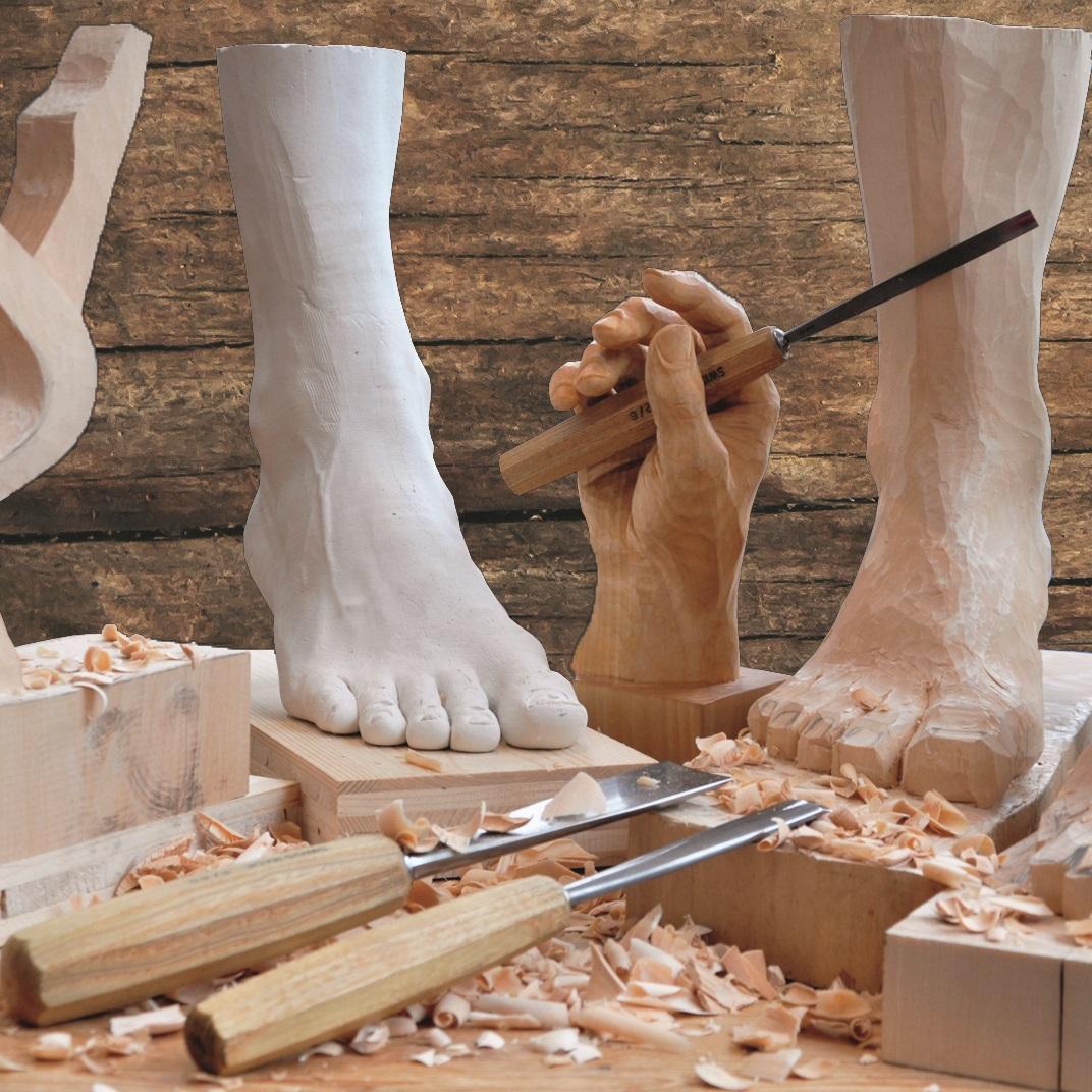 Figurales Schnitzen Bildhauerei - Schnitzstube Franz Stadlhofer