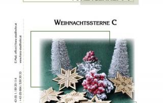 Vorlagenheft 6 Weihnachtssterne C - Schnitzstube Stadlhofer