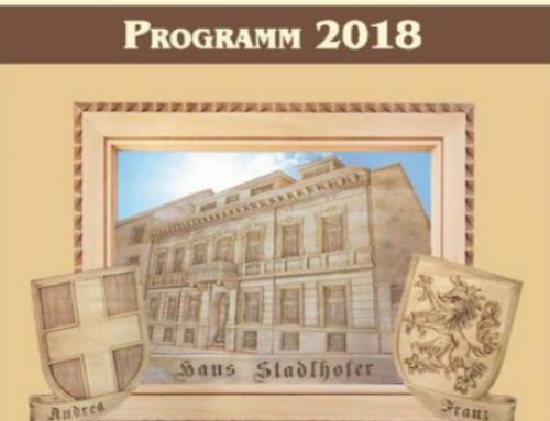 Das neue Kursprogramm 2018 ist da!