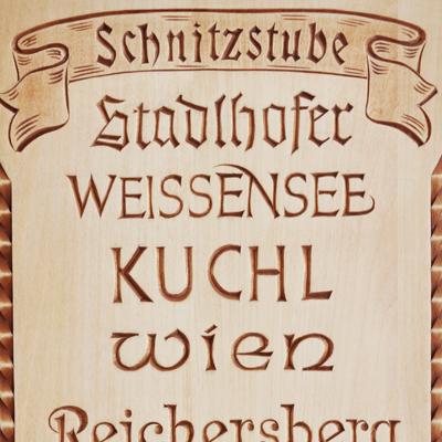 Musterbrett Kerbschnitt I - Schnitzstube Stadlhofer