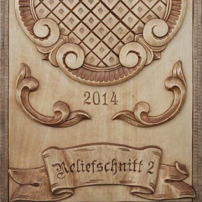 Musterbrett Reliefschnitt II - Schnitzstube Stadlhofer