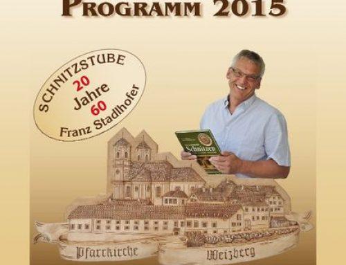 Das neue Kursprogramm 2015 ist da!