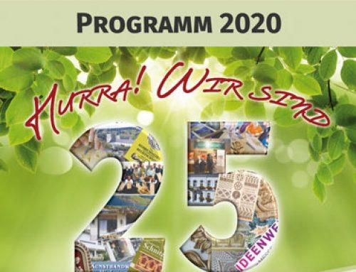Das neue Kursprogramm 2020 ist da!